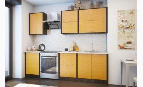 КУХНЯ: 2,4 м. фасад: манго цветы, корпус: венге. Верх:В.008.1;В.004.3. Низ:Н.008.1;Н.004.4